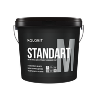 Kоlorit  STANDART M 9 л  универсальная краска для внутренних работ