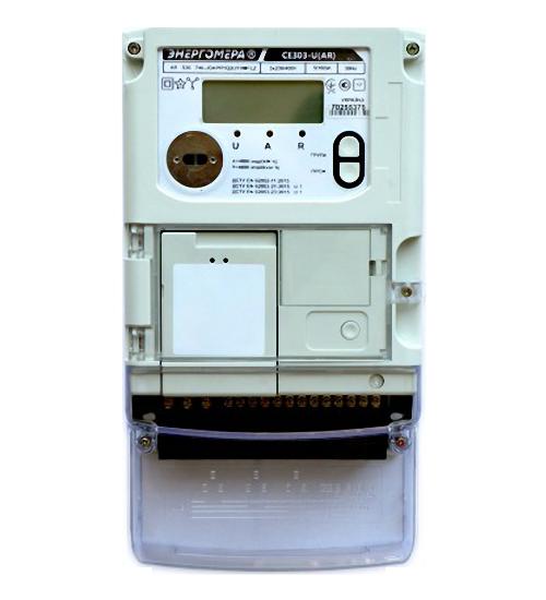 Электросчетчик СЕ303-U А S36 146-JOAPR1Q2UVMFLZ 3х230/400В 5-100А, реле