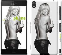 "Чехол на Sony Xperia Z3 D6603 Heidi Klum ""817c-58"""