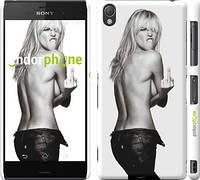 "Чехол на Sony Xperia Z3 dual D6633 Heidi Klum ""817c-59"""