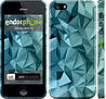 """Чехол на iPhone 5s Геометрический узор v2 """"2693c-21"""""""