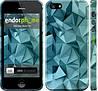 """Чехол на iPhone 5 Геометрический узор v2 """"2693c-18"""""""