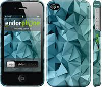 """Чехол на iPhone 4s Геометрический узор v2 """"2693c-12"""""""