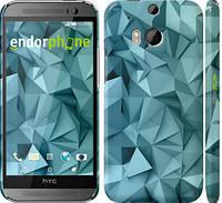 """Чехол на HTC One M8 dual sim Геометрический узор v2 """"2693c-55"""""""