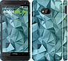 """Чехол на HTC One M7 Геометрический узор v2 """"2693c-36"""""""