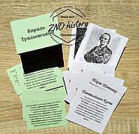 Персоналії-портрети, 239 карток ЗНО історія України 2020