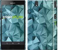 """Чехол на Sony Xperia Z C6602 Геометрический узор v2 """"2693c-40"""""""