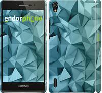 """Чехол на Huawei Ascend P7 Геометрический узор v2 """"2693c-49"""""""
