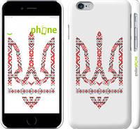 "Чехол на iPhone 6 Герб - вышиванка ""1195c-45"""