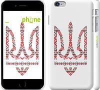 "Чехол на iPhone 6 Plus Герб - вышиванка ""1195c-48"""