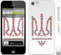 "Чехол на iPhone 5c Герб - вышиванка ""1195c-23"""