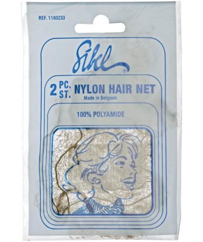 Сітка-Павутинка Для зачіски SIbel Коричнева 2 шт