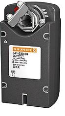 Электропривод c возвратной пружиной Gruner 341-230D-03-S2