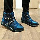 Теплые  ботинки девочкам, р. 31, 35. Демисезон, фото 6