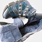Теплые  ботинки девочкам, р. 31, 35. Демисезон, фото 10