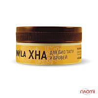 Хна для бровей и био тату NILA коричневая 50 грамм