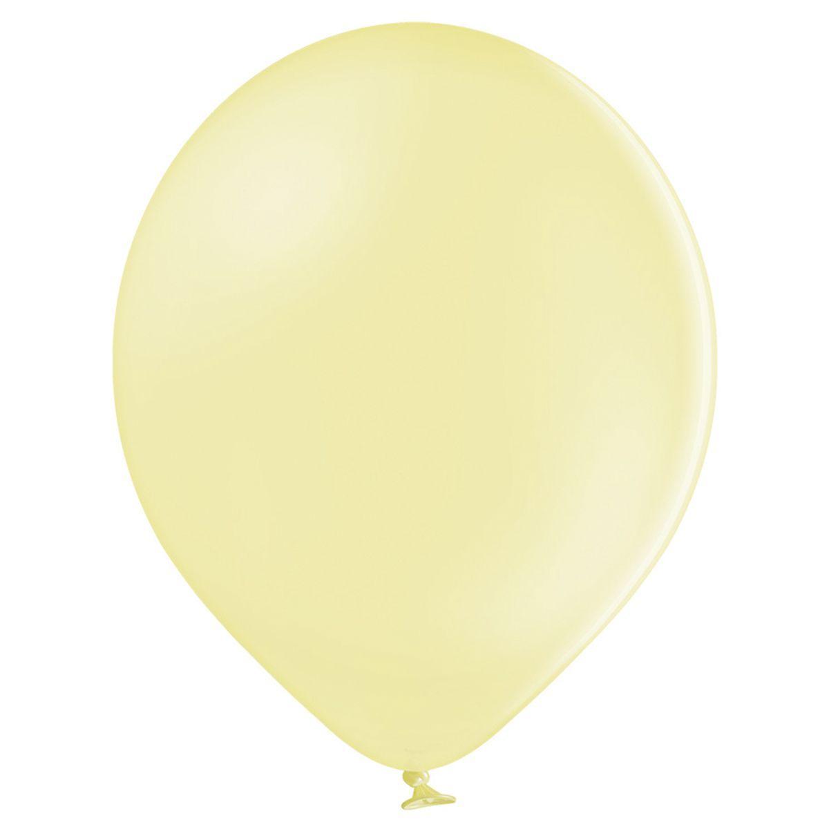 """Латексна кулька жовтий макарун лимонний пастель B105/450/ 12"""" Belbal"""