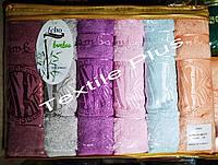 Полотенца с бамбука Febo 70*140 6шт Турция