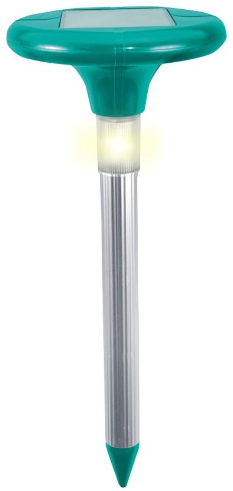Відлякувач кротів звуковий на сонячних батареях LED Greenmill 650м.кв