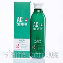 Лосьон-гель антибактериальный для проблемной кожи Etude House AC Clinic Daily Gel Lotion200 мл