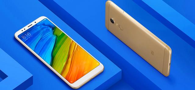 Смартфон Xiaomi Redmi 5 Plus дисплей