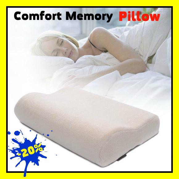 Ортопедическая анатомическая подушка с памятью Comfort Memory pillow, фото 1