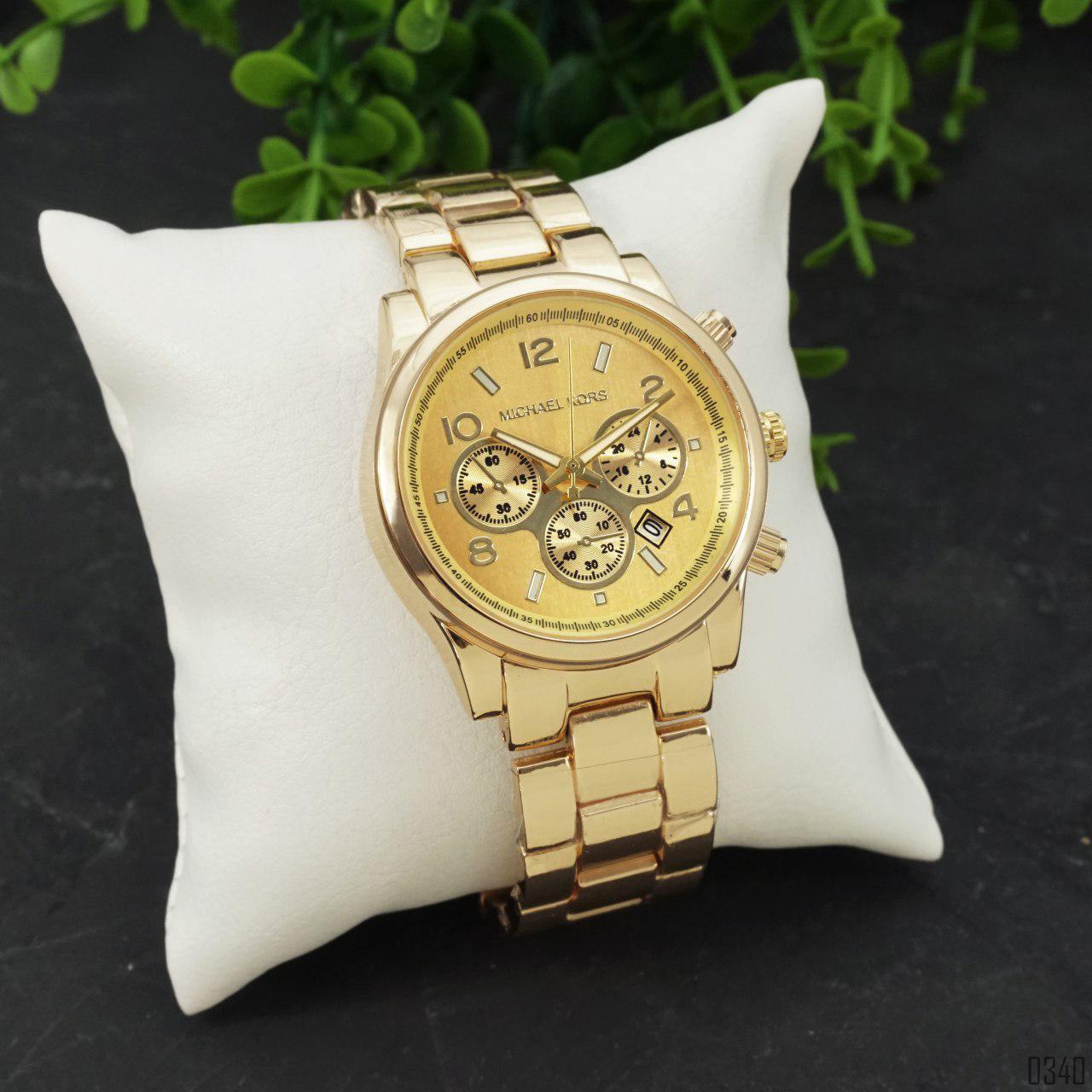Часы M.i.c.h.a.e.l K.o.r.s 1038 G.o.l.d. Механизм-кварцевый.Материал корпуса/ремешка: Часовая сталь.