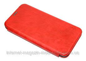 Чехол-книжка Samsung A107 Galaxy A10s 2019 красная Gelius Leather