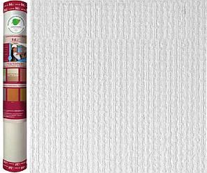 """Обои стекловолоконные WELLTON OPTIMA декоративные """"Дерюжка-WO200"""" , 25 кв.м"""