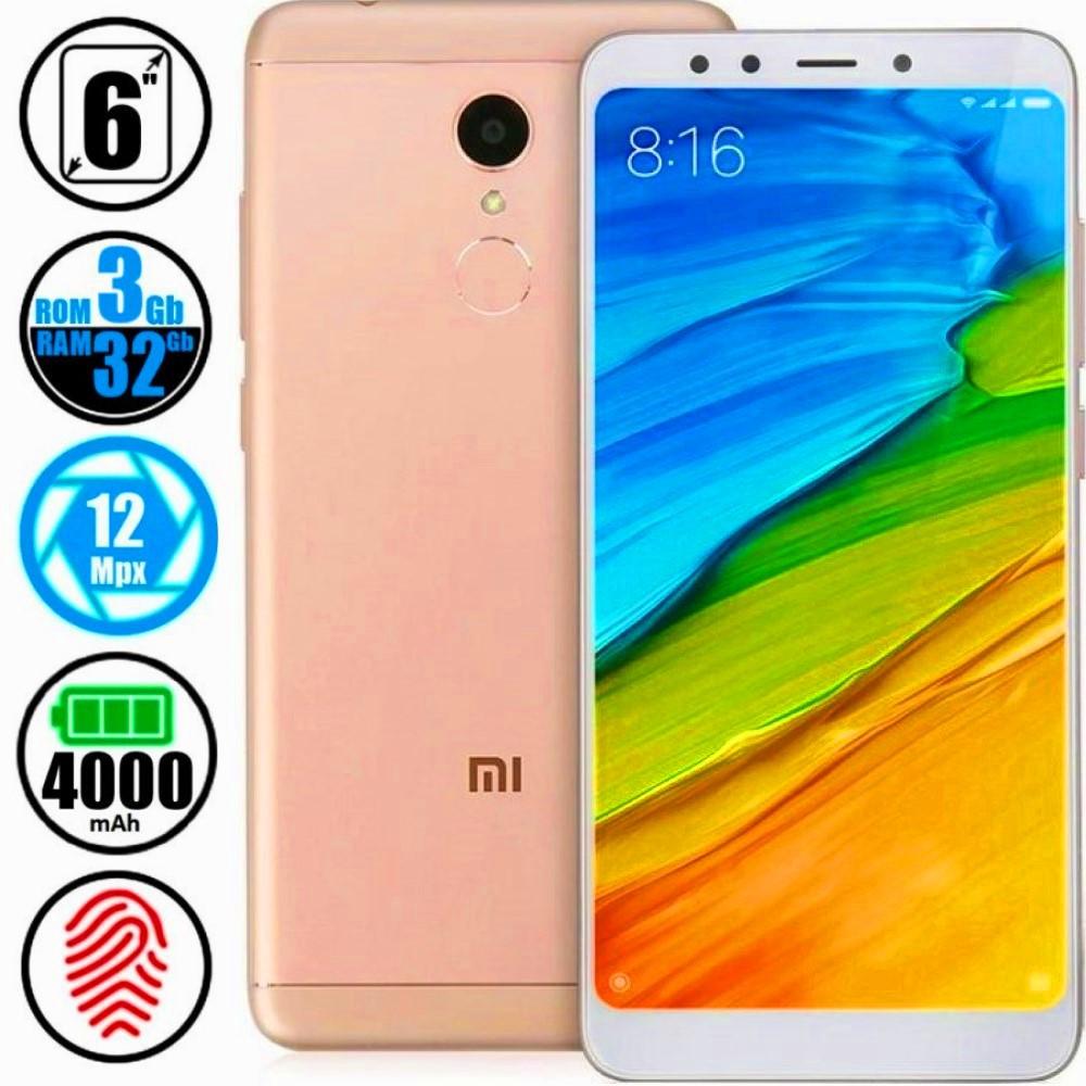 Смартфон Xiaomi Redmi 5 Plus 3/32GB Gold MIUI 10 (Сертифицирован в Украине UCRF) + Стекло в подарок