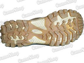 Берцы из натурального нубука со вставками из нейлона 600D (цвет койот), фото 3