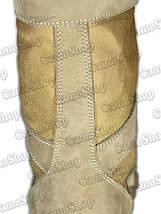 Берцы из натурального нубука со вставками из нейлона 600D (цвет койот), фото 2