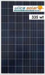 Солнечная батарея ULICA Solar 335 Вт 24В поликристаллическая UL-335P-72