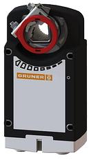 Электропривод c возвратной пружиной Gruner 361C-024-10-S2
