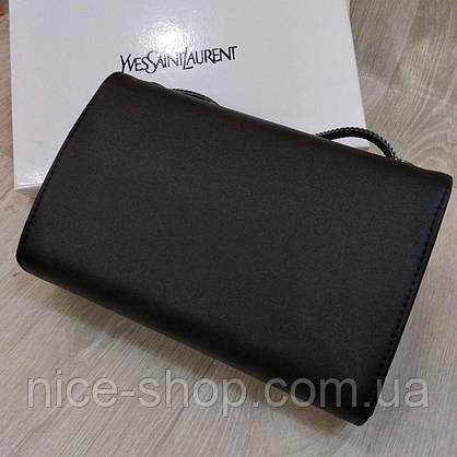 Сумочка-клатч чорна в коробці, фото 2