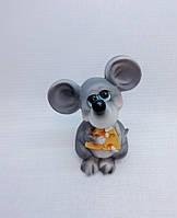 Копилка Мышь 13,5х5 см, Копилка мышь, подарок на Новый Год 2020, копилка символ Нового Года