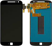 Дисплей для Motorola Moto G4 Plus XT1640, XT1641, XT1642, XT1643, XT1644, модуль (екран і сенсор), чорний
