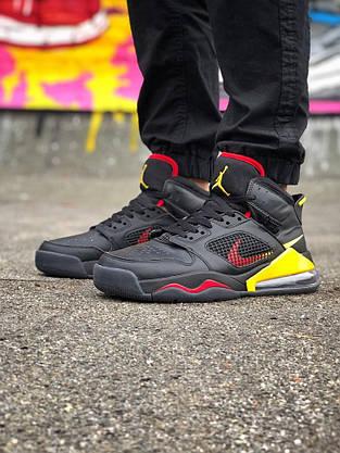 Кроссовки Nike Jordan Mars 270 Чёрные-Жёлтые, фото 2