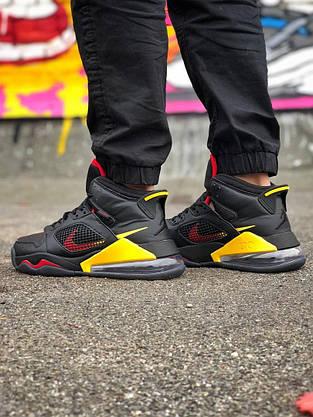 Кроссовки Nike Jordan Mars 270 Чёрные-Жёлтые, фото 3