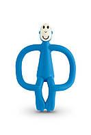 Игрушка - грызунок Обезьянка, цвет синий, 10,5 см, Matchstick Monkey, фото 1
