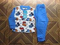 Детская трикотажная пижама для мальчика Турция  86. 92 см хлопок