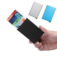 Кредитница картхолдер карманный металл разные цвета