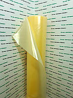Тепличная пленка 100мкм, 6м/50м. Стабилизатор UV 2% (желтая).