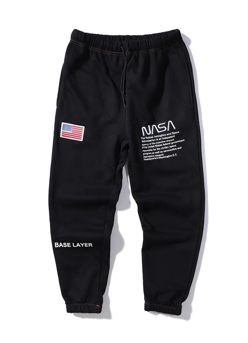 Чёрные штаны NASA x Heron Preston (наса мужские женские)