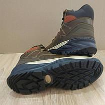 Натуральна шкіра зимові чоловічі черевики ARRIGO BELLO темно - коричневі 43р, 44р високі черевики, фото 3