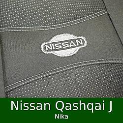 Чехлы на сиденья Nissan Qashqai J10,J11 (Nika)