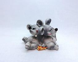 Копилка Мышь 10х9,5 см, Копилка мышь, подарок на Новый Год 2020, копилка символ Нового Года