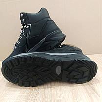Натуральная кожа зимние мужские ботинки ARRIGO BELLO черные 41р-46р кожаные высокие ботинки, фото 3