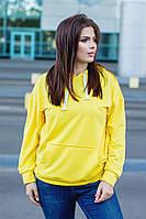 Женский модный свитшот  ИО368 (норма), фото 1