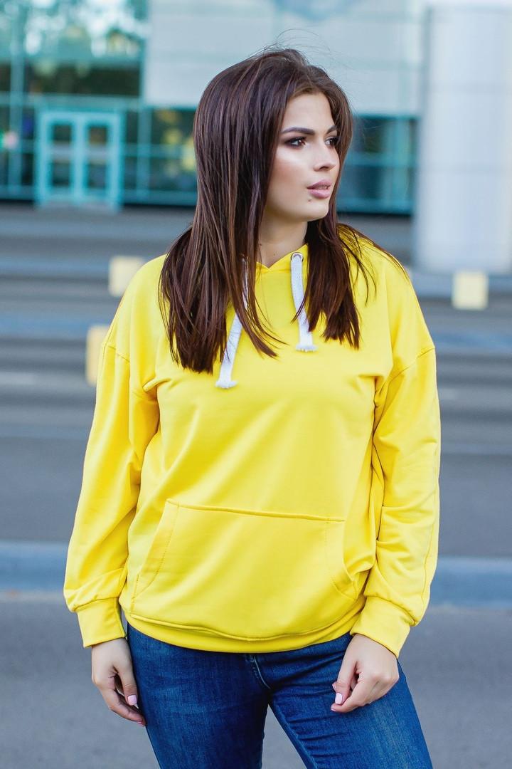 Женский модный свитшот  ИО368 (норма)